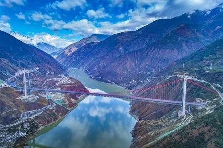 D9雅康高速川藏第一桥 (9)_wps图片