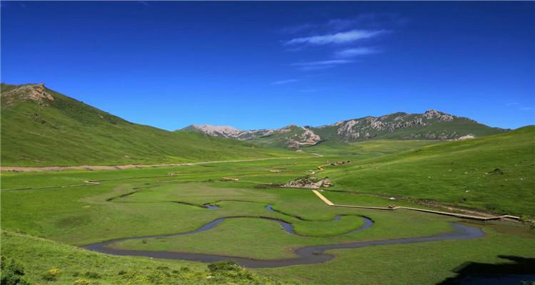 月亮湾+河它温泉谷+若尔盖花湖草原环线3日游